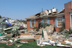 Después de huracán Imágenes de archivo libres de regalías