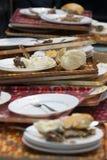 Después de la comida Imagen de archivo libre de regalías