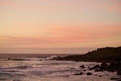 Después de la puesta del sol Foto de archivo libre de regalías