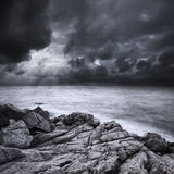 Después de la tormenta foto de archivo