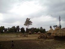 Después de lluvia, Bihar, la India Fotografía de archivo