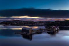 Después de puesta del sol Fotografía de archivo libre de regalías