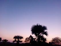 Después de puesta del sol Fotos de archivo libres de regalías