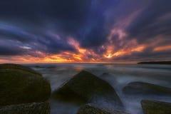 Después de puesta del sol en Phuket Fotografía de archivo libre de regalías