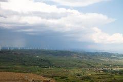 Después de tempestad de truenos Fotografía de archivo