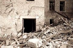 Después de terremoto fotos de archivo libres de regalías