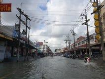 Después de tormenta del pabuk en Nakorn Sri Thammarat fotografía de archivo libre de regalías