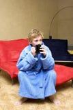 Después de un baño Foto de archivo libre de regalías