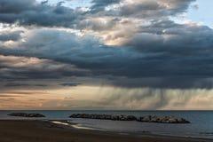 Después de una tormenta fuerte Fotografía de archivo libre de regalías