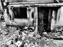 Después del conflicto militar 1 Fotos de archivo libres de regalías