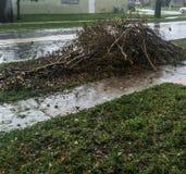 Después del huracán Irma imagen de archivo