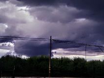 Despu?s de la tormenta foto de archivo