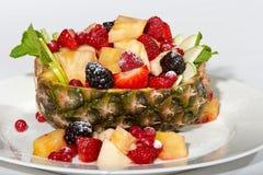 Fruchtnachtisch Stockfoto