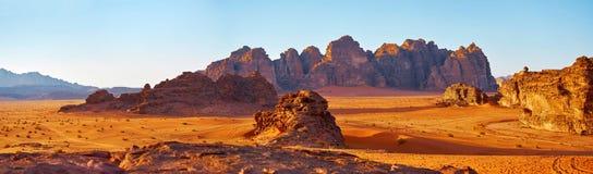 Desrt Wadi Rum Royaltyfri Bild