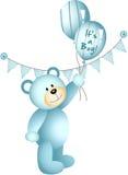 Dess en pojke Teddy Bear royaltyfri illustrationer