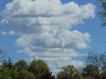 Dessa moln var kalla royaltyfri bild