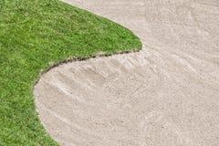 Dessableur de terrain de golf Photo stock