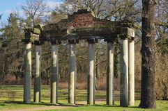 Dessau Georgium roman ruin Stock Photo