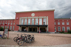 Dessau-Hauptbahnhof stockbild