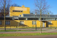 Dessau historic job center Stock Images