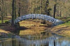 Dessau Luisium bridge Stock Images