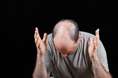 Desserrage du cheveu Photographie stock libre de droits