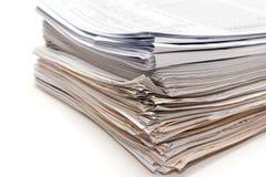 desserre la pile documents Images stock