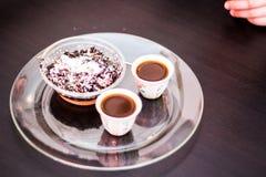 Dessert éthiopien Photo libre de droits