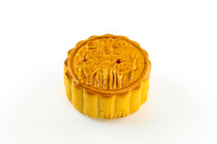 Dessert. Moon cake from the market in Thailand Stock Image
