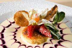 Dessert Fotografie Stock Libere da Diritti