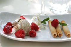 Dessert Fotografie Stock