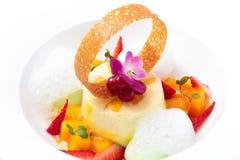 Dessert. Fotografie Stock