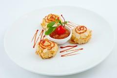 Dessert Royalty-vrije Stock Foto's