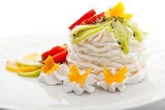 Dessert royalty-vrije stock afbeelding