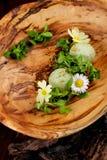 Dessert alla panna gastronomico pranzante fine del ghiaccio Fotografia Stock Libera da Diritti