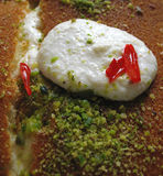 Dessert arabo 1 Fotografia Stock Libera da Diritti