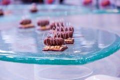 Dessert artificiale Fotografie Stock Libere da Diritti
