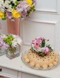 Dessert as a wedding gift Stock Photo