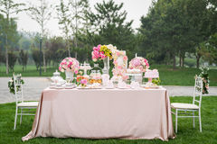 Free Dessert At The Wedding Stock Photography - 79579332