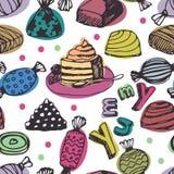 Dessert background Stock Image