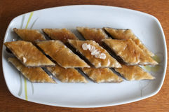 Dessert baklava Stock Photo