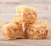Dessert baklawa Stock Photos