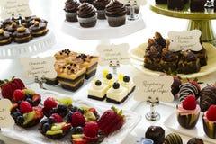 Dessert bar Stock Photography