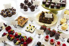 Dessert bar Royalty Free Stock Photography
