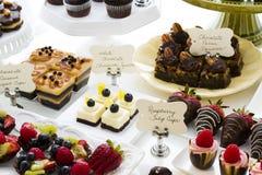 Dessert bar Royalty Free Stock Images