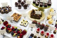 Dessert bar Stock Images