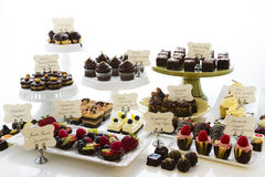 Dessert bar Stock Image