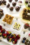 Dessert bar Royalty Free Stock Photo