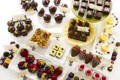 Dessert bar Stock Photo