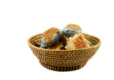 Dessert in basket Royalty Free Stock Images